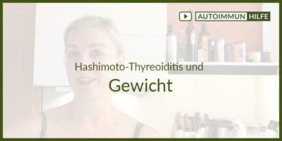 Hashimoto-Thyreoiditis und Gewicht